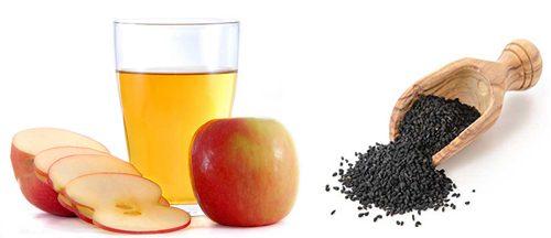 Яблочный уксус и черный тмин
