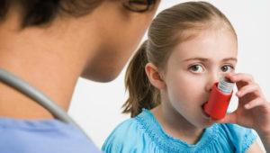 Аллергический бронхит у девочки