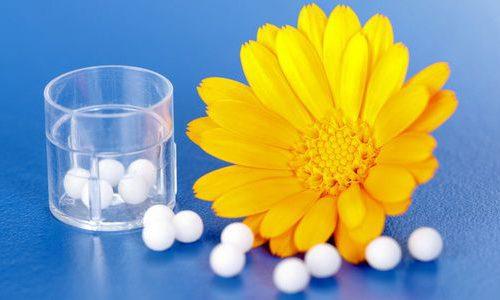 Применение гомеопатии