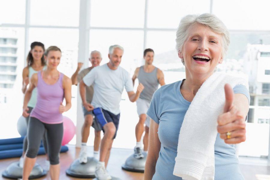 Люди со здоровыми суставами