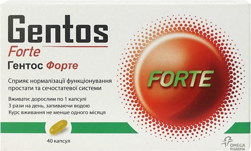 Препарат Гентос Форте