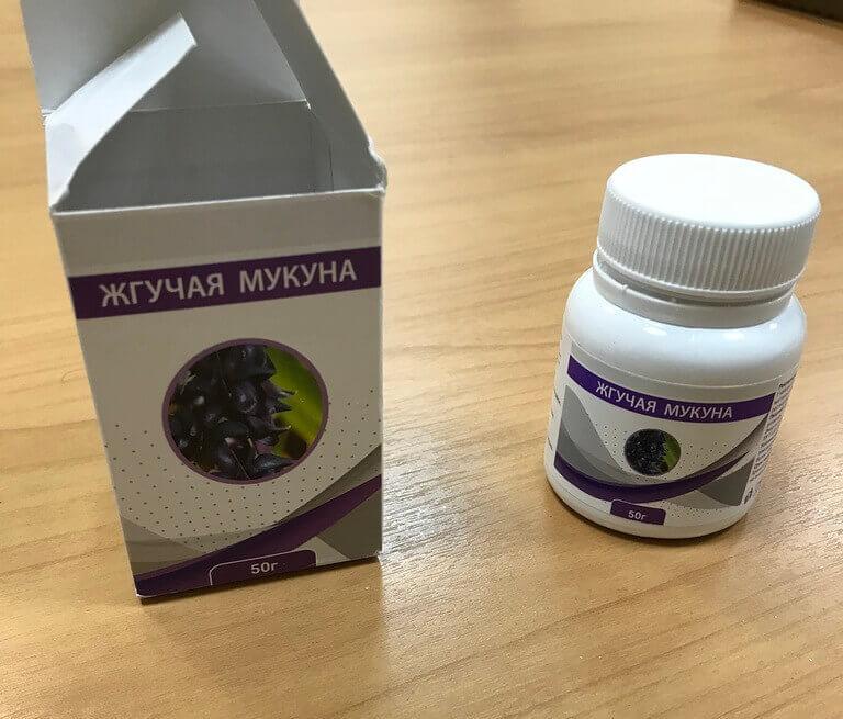 Препарат для мужской потенции Жгучая мукуна
