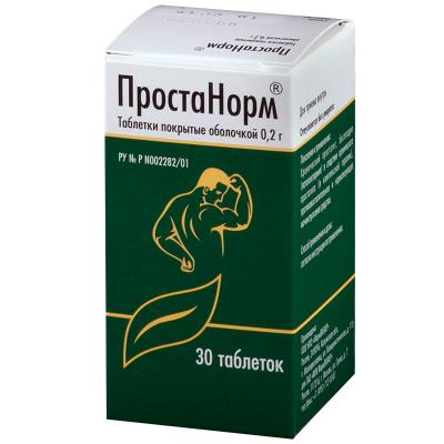 Препарат Простанорм для лечения простатита