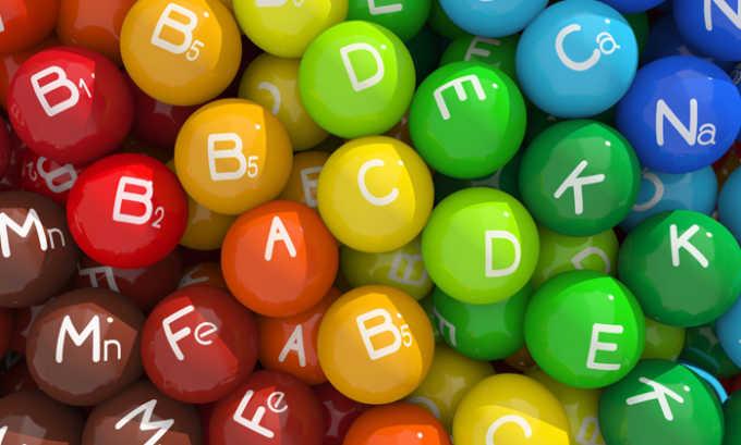 Профилактика жжения включает прием витаминов