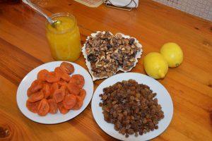 Приготовление витаминной смеси