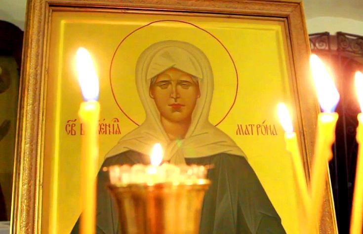 Сильная молитва от пьянства Святой Матроне