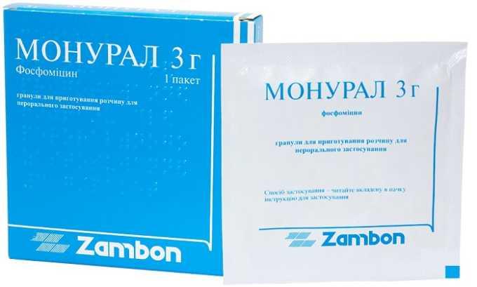 Самый популярный антибиотик и уросептик при остром цистите - Монурал
