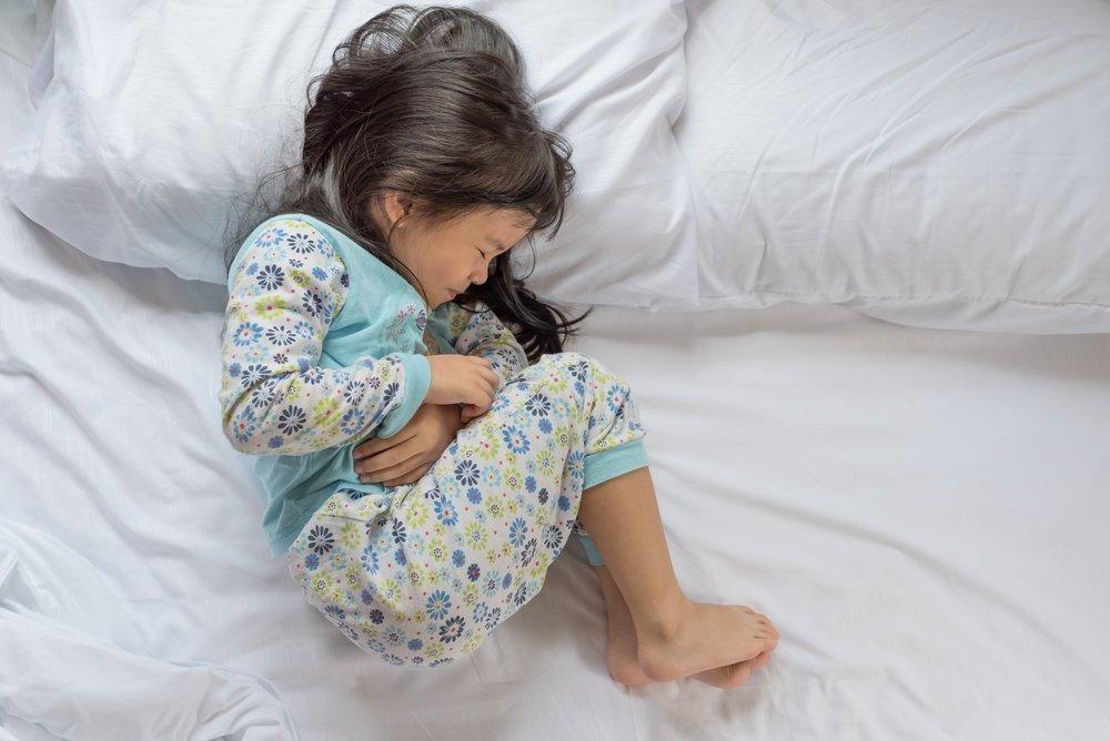 Ребенок с болями в животе