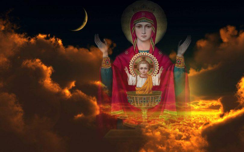 Молитва от пьянства Неупиваемая Чаша