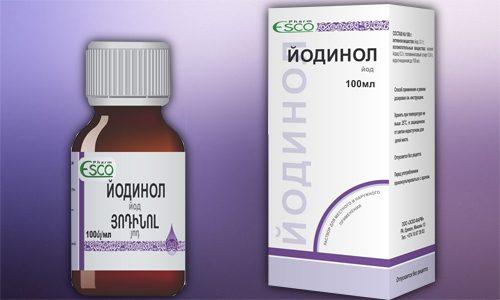 Лекарственное средство Йодинол