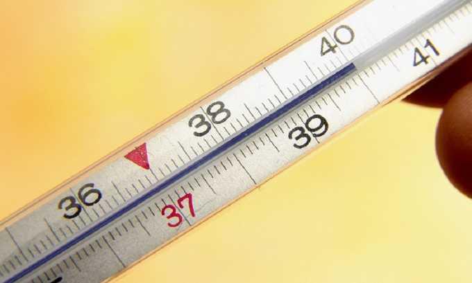 Повышение температуры тела может быть симптомом воспаления