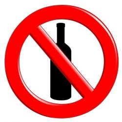 Воздержание от употребления спиртных напитков