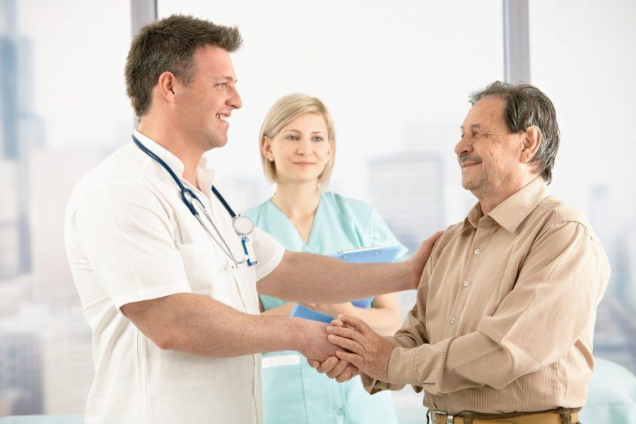 Пациент-мужчина