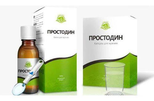 Препарат Простодин при простатите