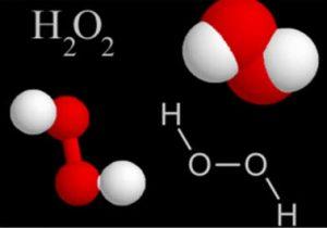 Молекулярный состав перекиси водорода