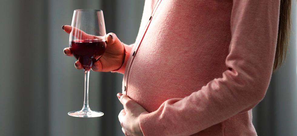 Алкоголь после зачатия при беременности