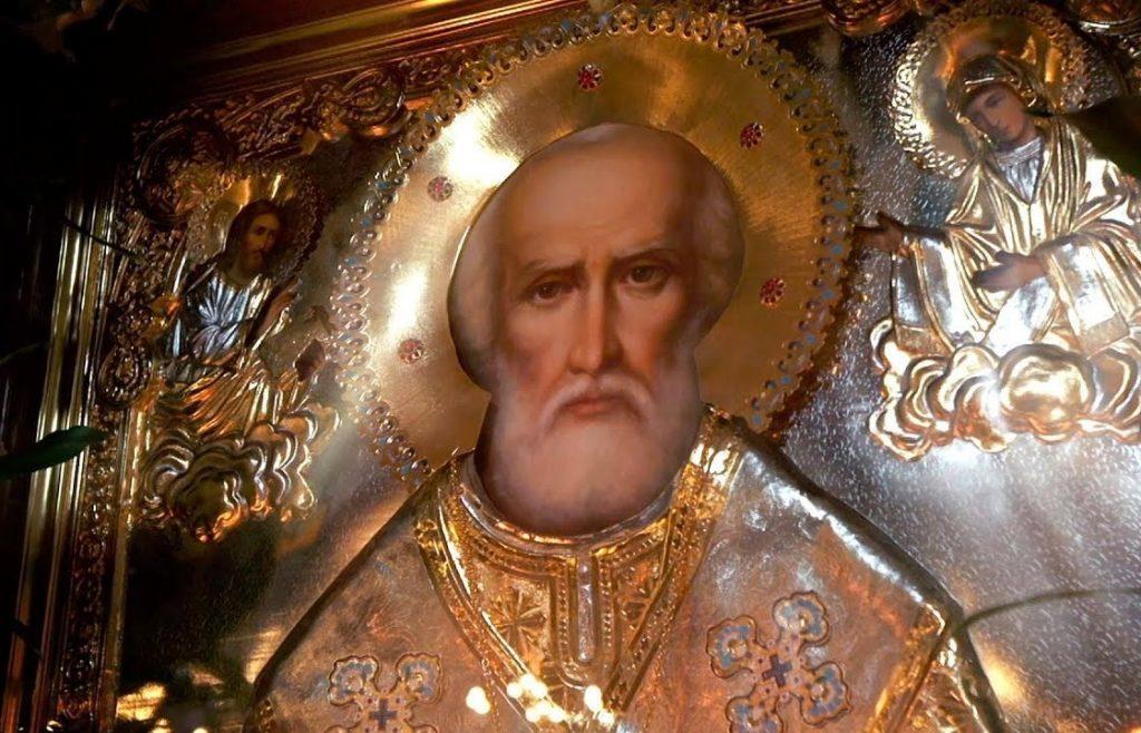 Молитва от пьянства Николаю Чудотворцу