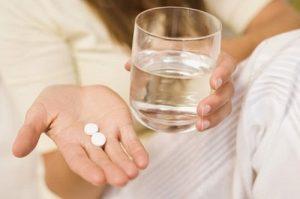 Прием препарата в форме таблеток