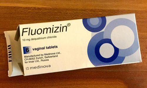 Вагинальные таблетки Флуомизин