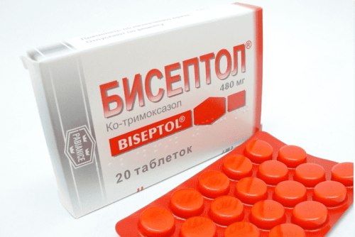 Лечение простатита Бисептолом