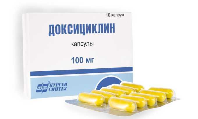 При хламидиозе прописывают Доксициклин