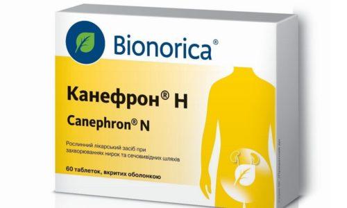 Дополнительное спазмолитическое действие оказывает фитопреперат - Канефрон