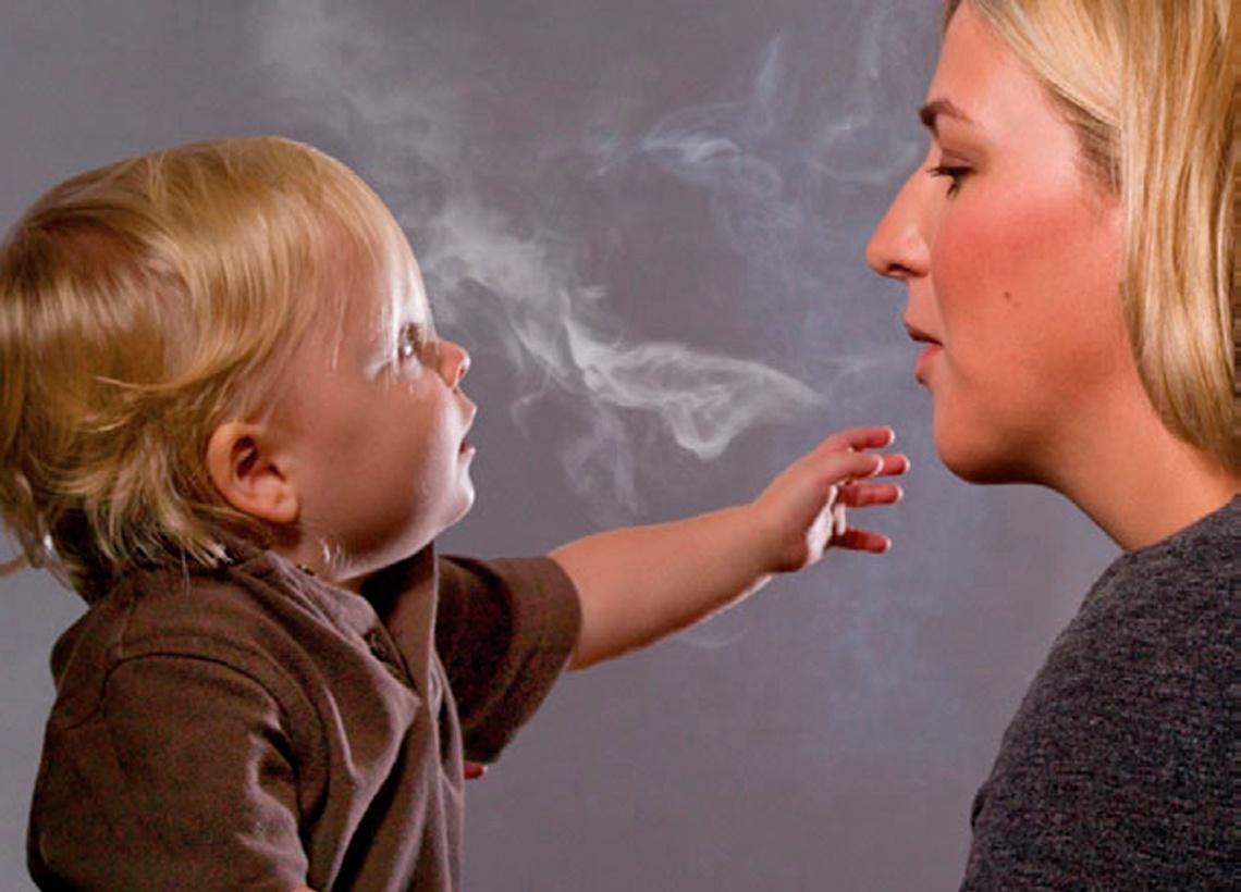 Опасность пассивного курения для здоровья ребенка