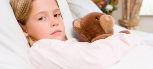 Проявление микоплазмоза у детей