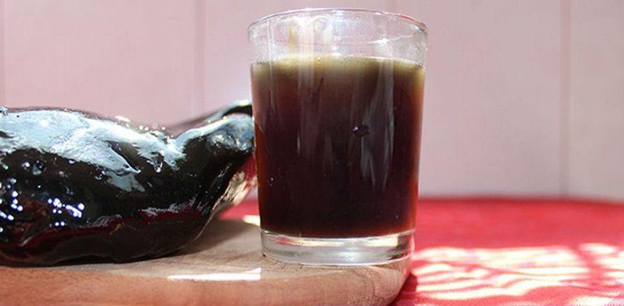 Лечебный напиток с мумие