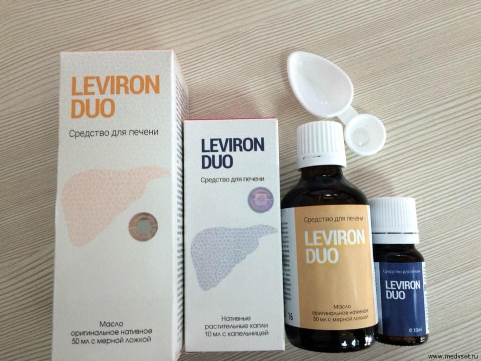 Масло и капли Leviron Duo
