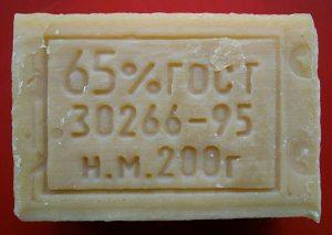 Заводская печать на мыле