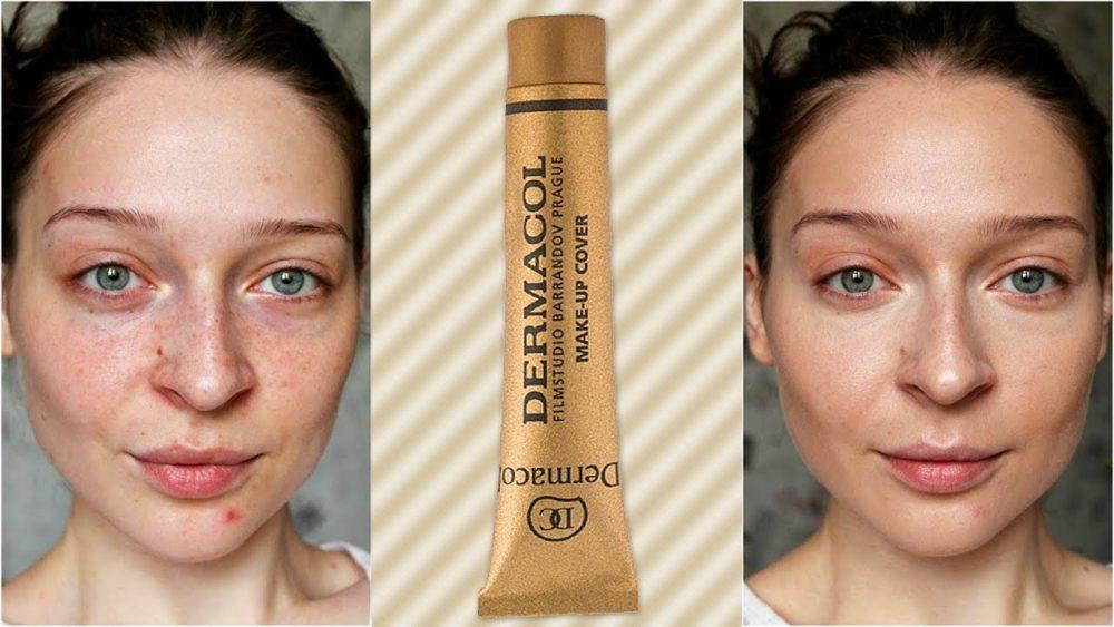 Исправление недостатков кожи лица с помощью Дермакола
